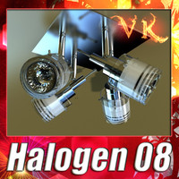 halogen lamp 08 3ds