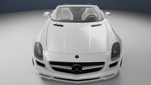 3ds max mercedes benz sls amg