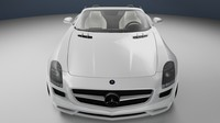 Mercedes Benz SLS AMG Roadster 2011