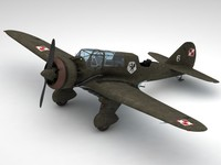 3d pzl23 karas light bomber