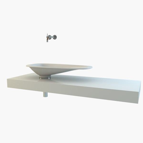 3d rapsel kea vasca model