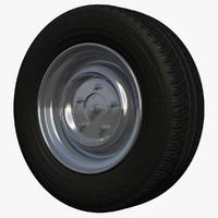 rim rv wheel c4d