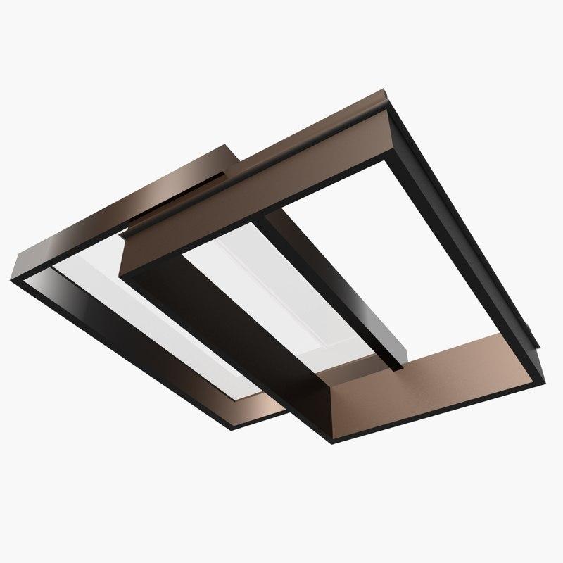 sliding rooflight 3d model