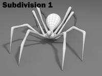 Spider (basic mesh)