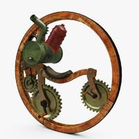 steampunk monocycle max