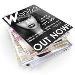 3d magazines model