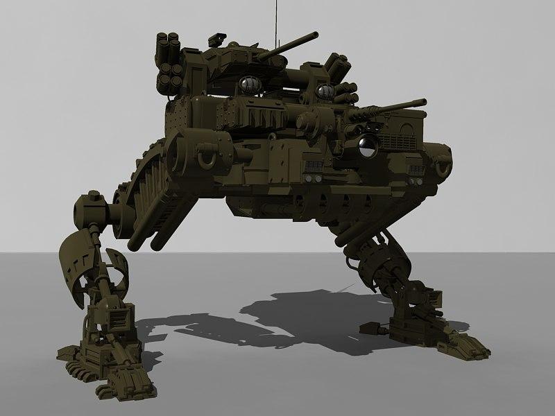 assault weapon 3d model