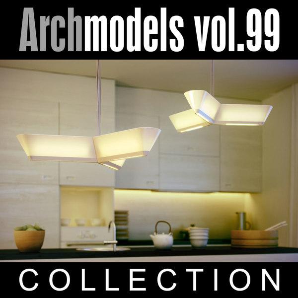 c4d archmodels vol 99 lamps