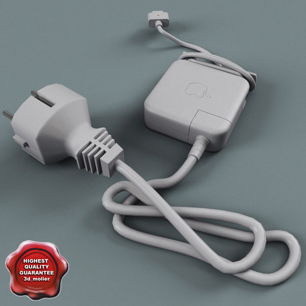 3d apple adapter charger