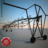 3d center pivot irrigation