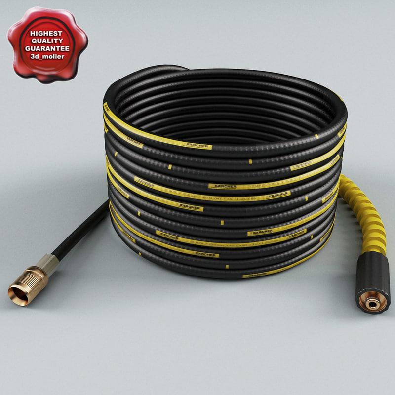 karcher extension hose 3d model