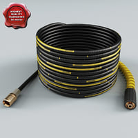 karcher extension hose 3d model