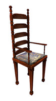 3d classic victorian chair model