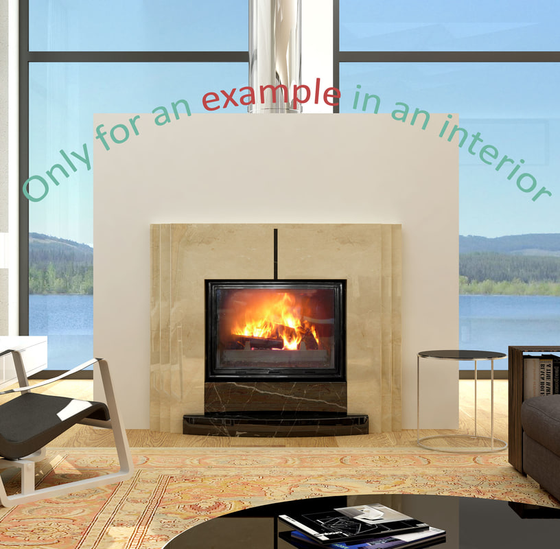 fireplace 52 3d max
