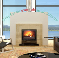 fireplace 52 3d max