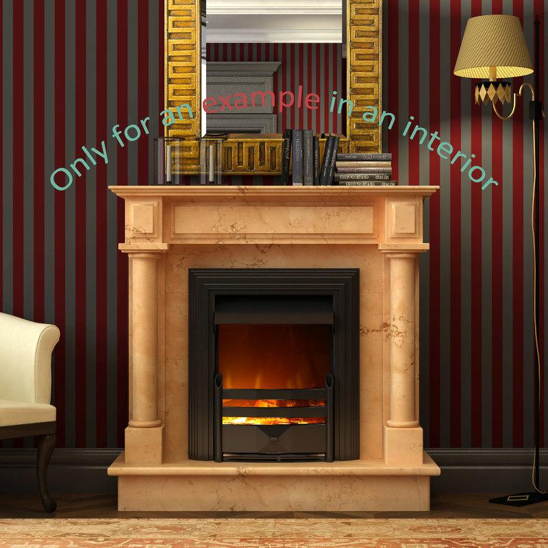 3d fireplace 50 model