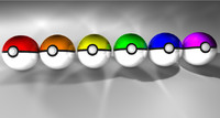 pokeball pack poke 3d c4d