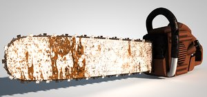 chainsaw saw 3d model