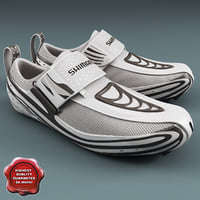 3d model sneakers shimano tr52