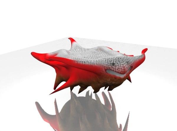 red fish fat 3d wrl
