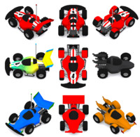 RC Race Buggy car with many variations