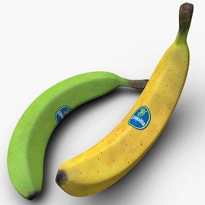 banana fruit 3d 3ds
