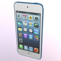 3d model ipod touch apple
