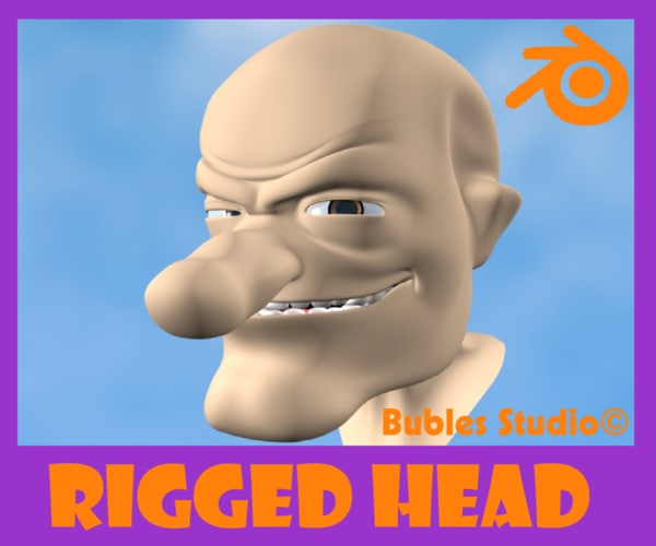 free blend mode old man rigged