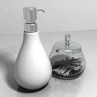 Soap Dispenser and Container