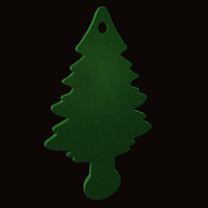 3d pine tree ornament model