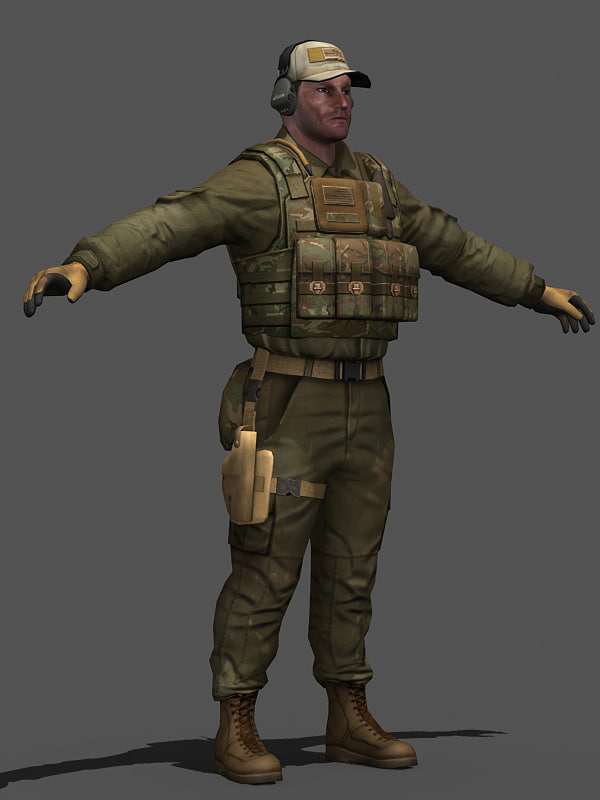 3d character private contractor