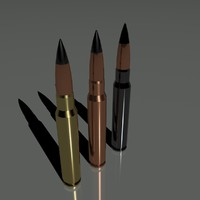 cartridges 7 92 mm 3d max