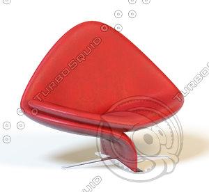 3d model chair tonon