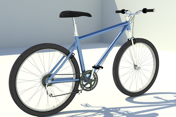bicycle bike mountain 3d x