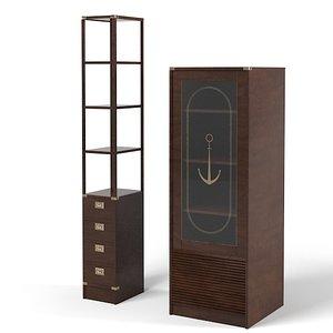 caroti 123 etagere 3d 3ds