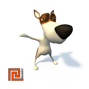 max cartoon character doggy