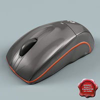 3d obj computer mouse
