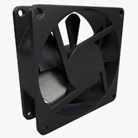 3ds max case cooler