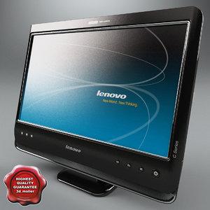 desktop pc lenovo c205 3d max