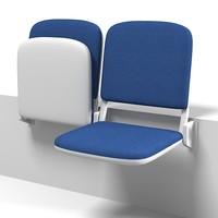 folding stadium seat 3ds