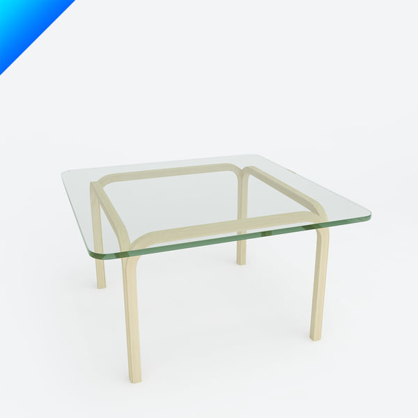 3d model glass table y805a