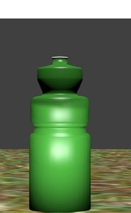 free blend mode customizeable water bottle