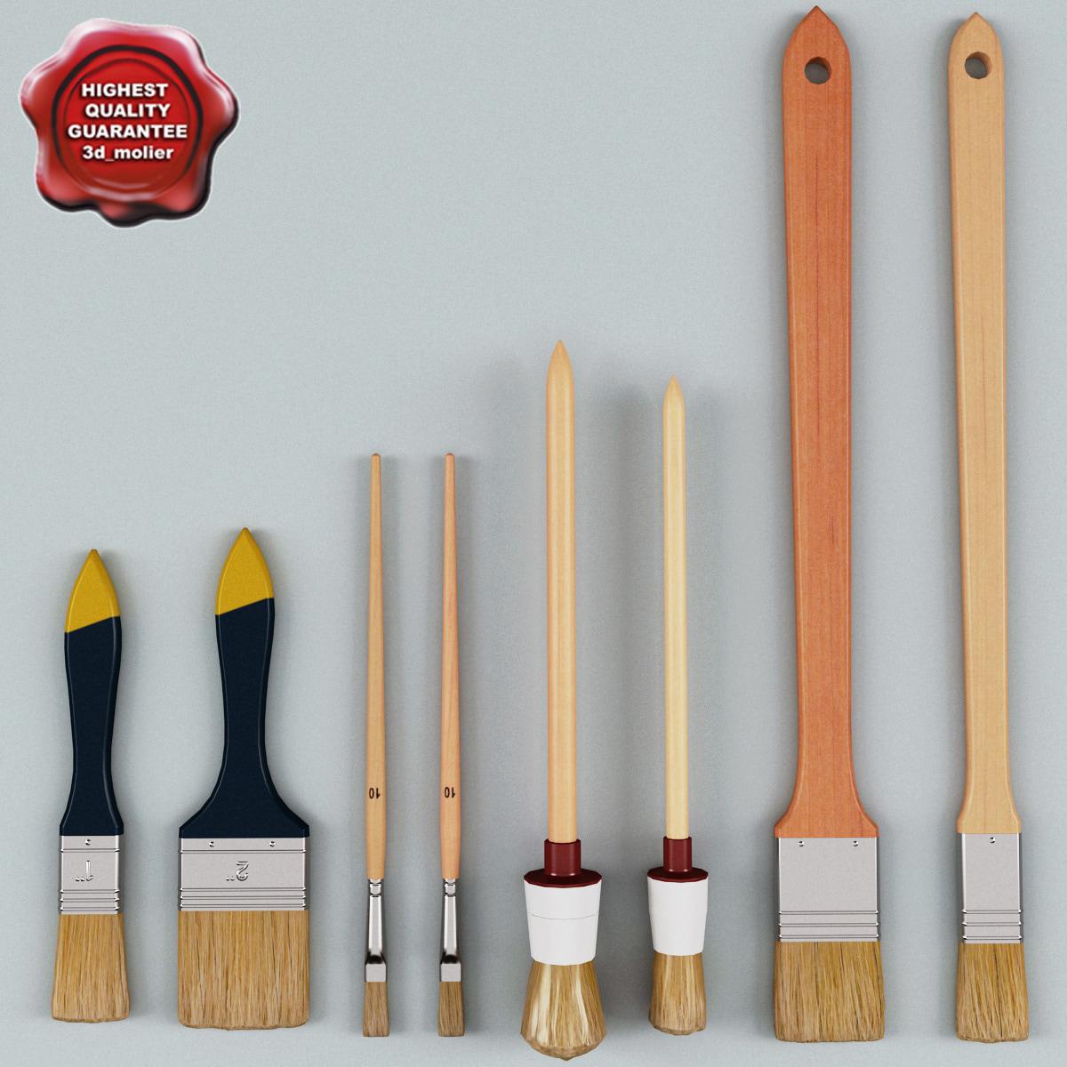 3d paint brushes v5