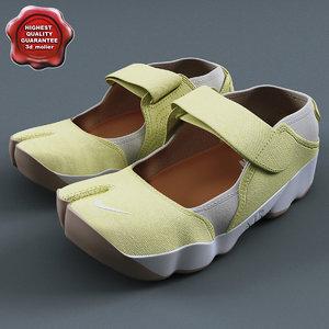 3dsmax sneakers nike air rift