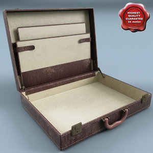 3d suitcase v3 model