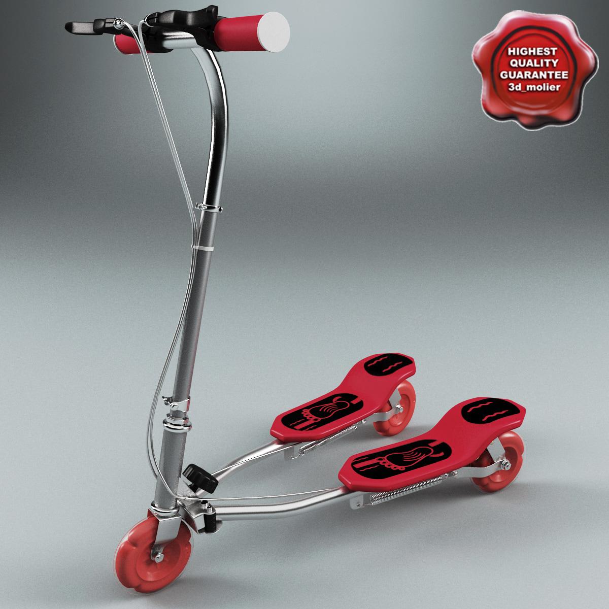tango swing scooter 3d model