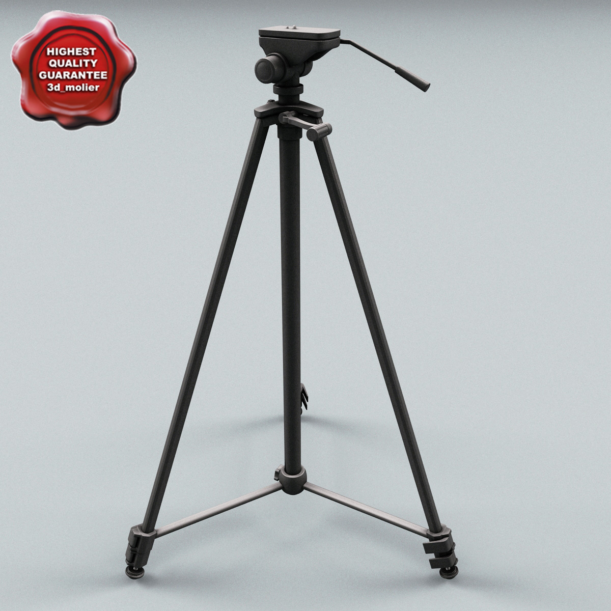 3ds tripod modelled