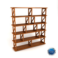 3d bookcase book model