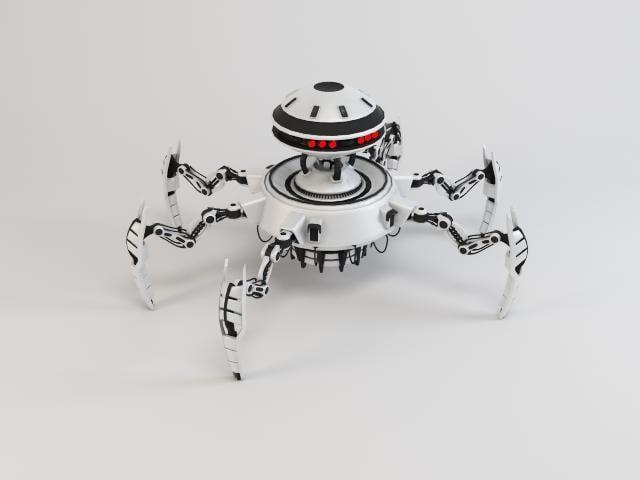 robot drt350 3ds