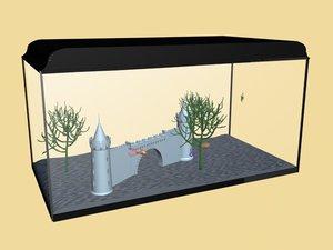3d fishtank fish model